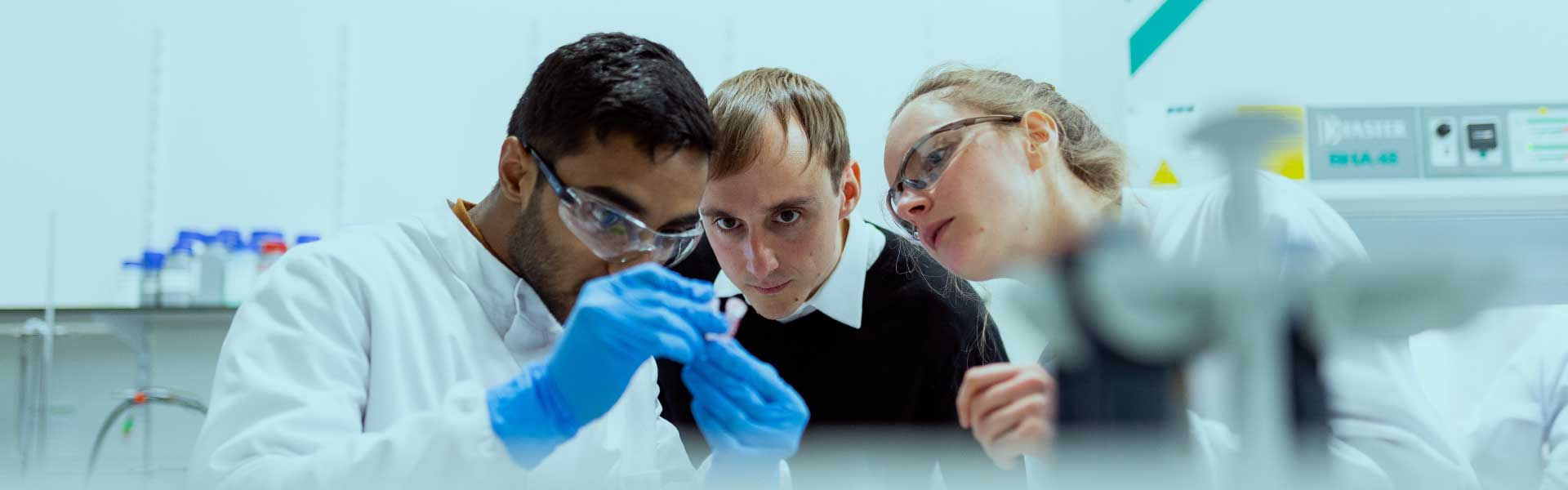 Equipe de laboratoire
