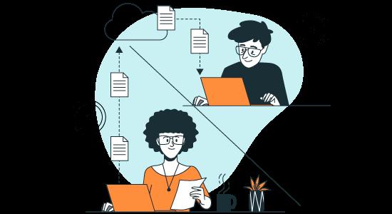 Laboratory's data synchronization